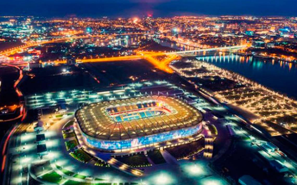 Templos del futbol: Así luce el ecológico estadio Rostov