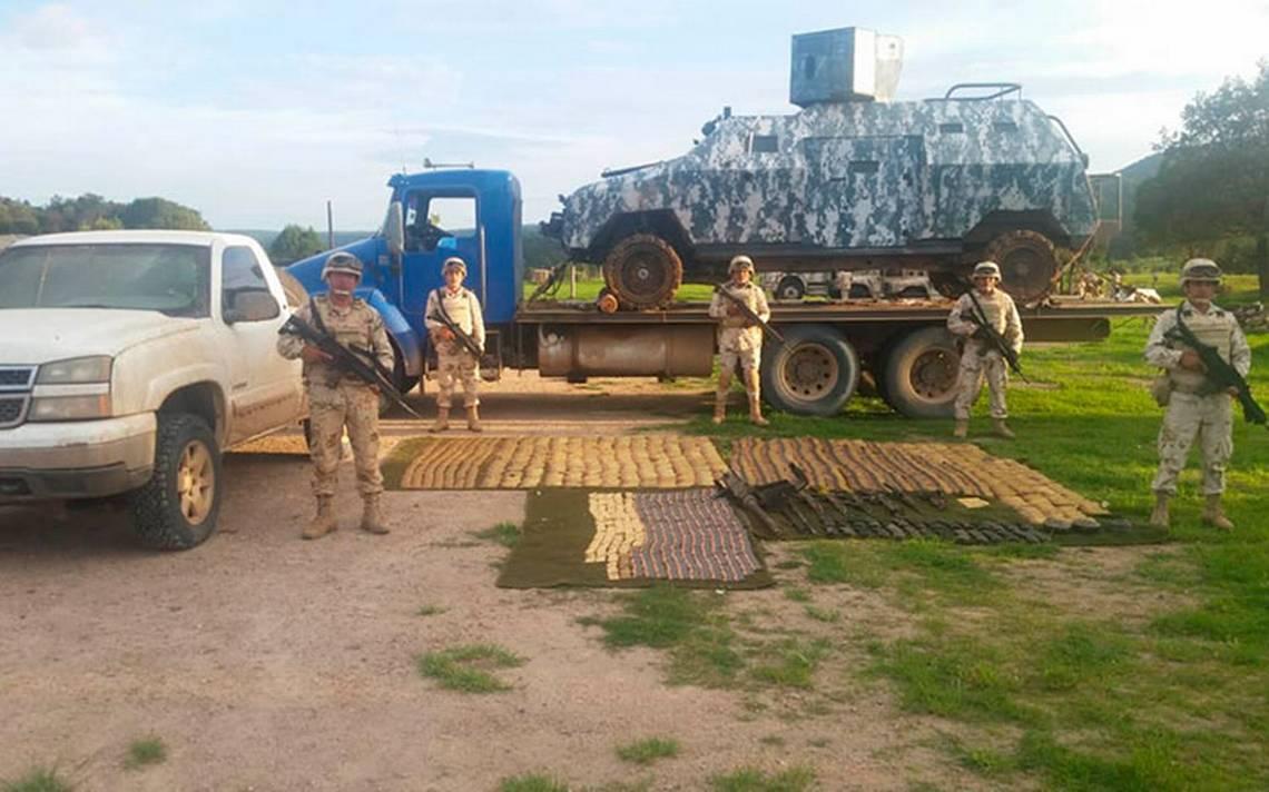 Ejército en Sonora repele agresión