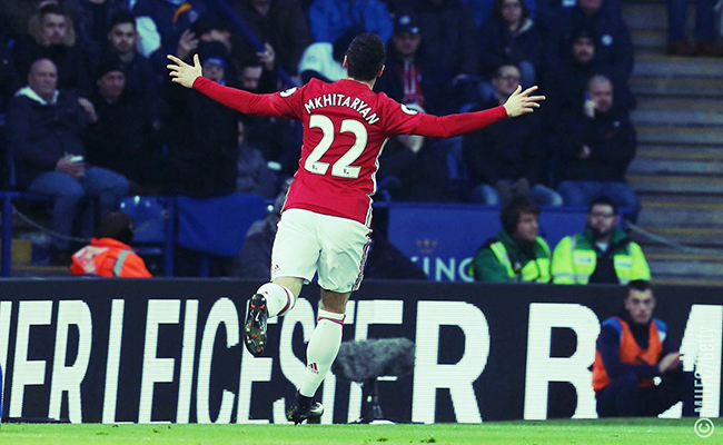 Manchester United vence a domicilio al Leicester City en Liga Premier