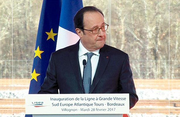 Frustran atentado; Hollande confirma nacionalidad de atacante en Bélgica