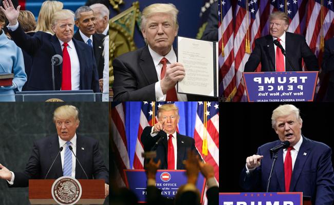 ¿Descuidado? Así luce Trump a dos semanas de tomar la presidencia de EU