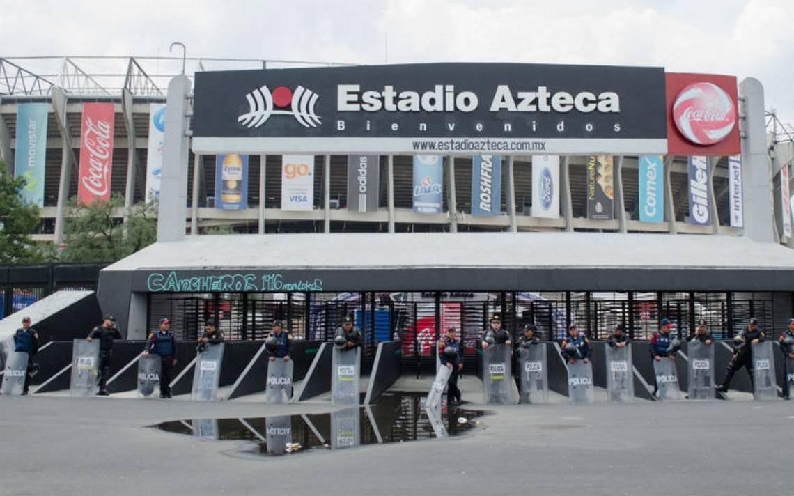Autoridades capitalinas emiten alternativas viales por noche de fut en el Azteca