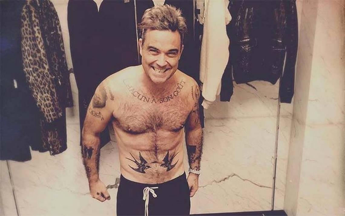 Robbie Williams desapareció de los escenarios por terrible enfermedad