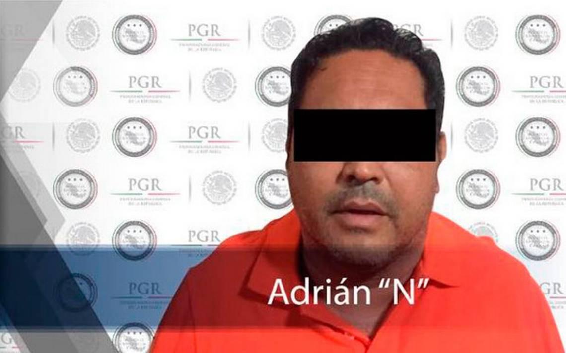 """Detienen a AdriA?n """"N"""", el contador del cA?rtel Jalisco Nueva GeneraciA?n"""