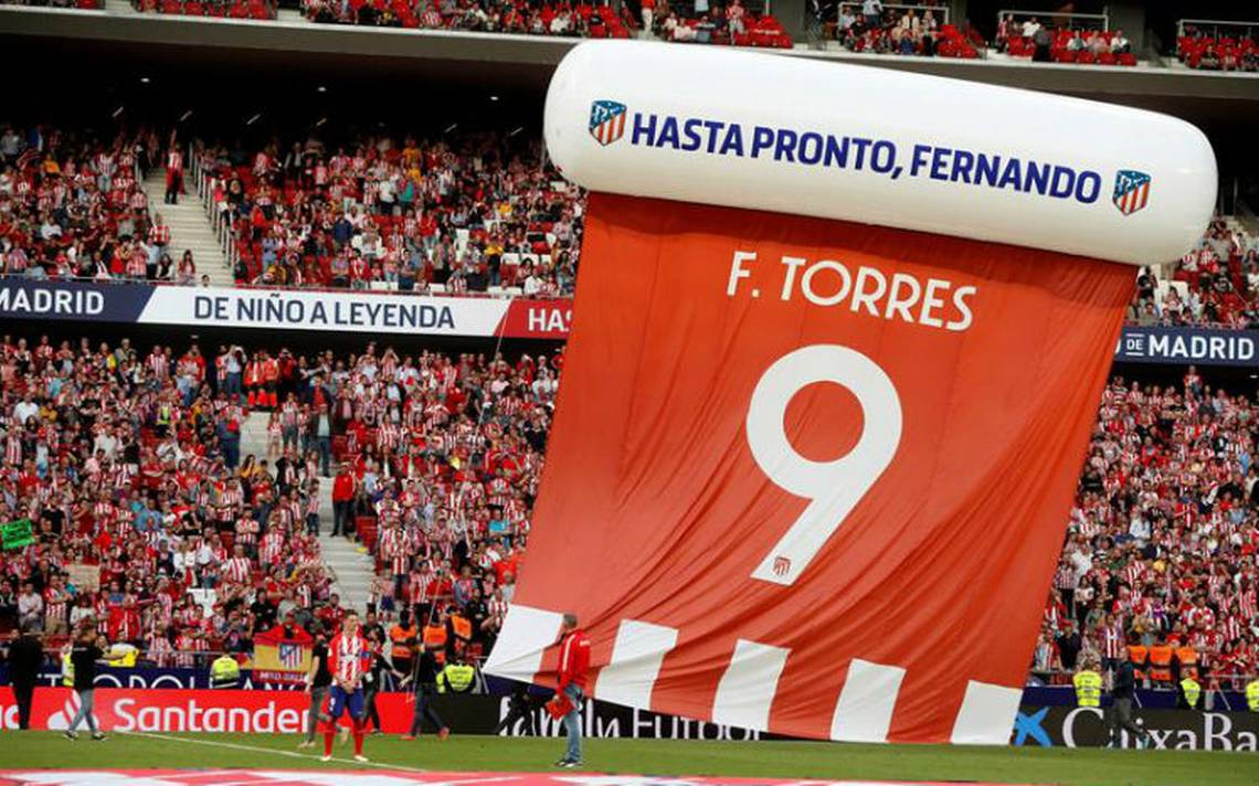 """""""Niño"""" Torres marca doblete en su despedida del Atleti"""