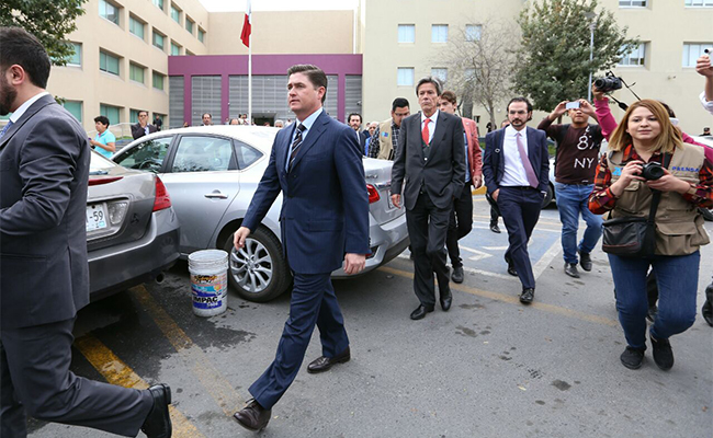 Dictan prisión preventiva contra exgobernador Rodrigo Medina