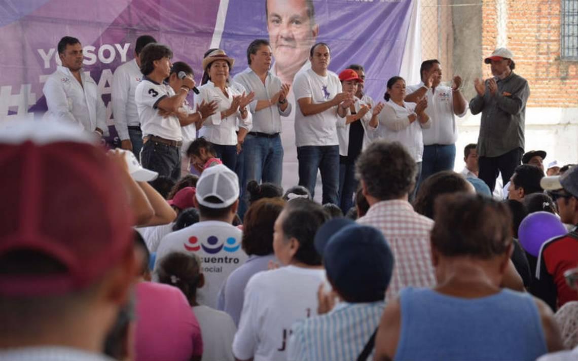 Atacan a balazos a equipo de campaña de Cuauhtémoc Blanco, hay un muerto
