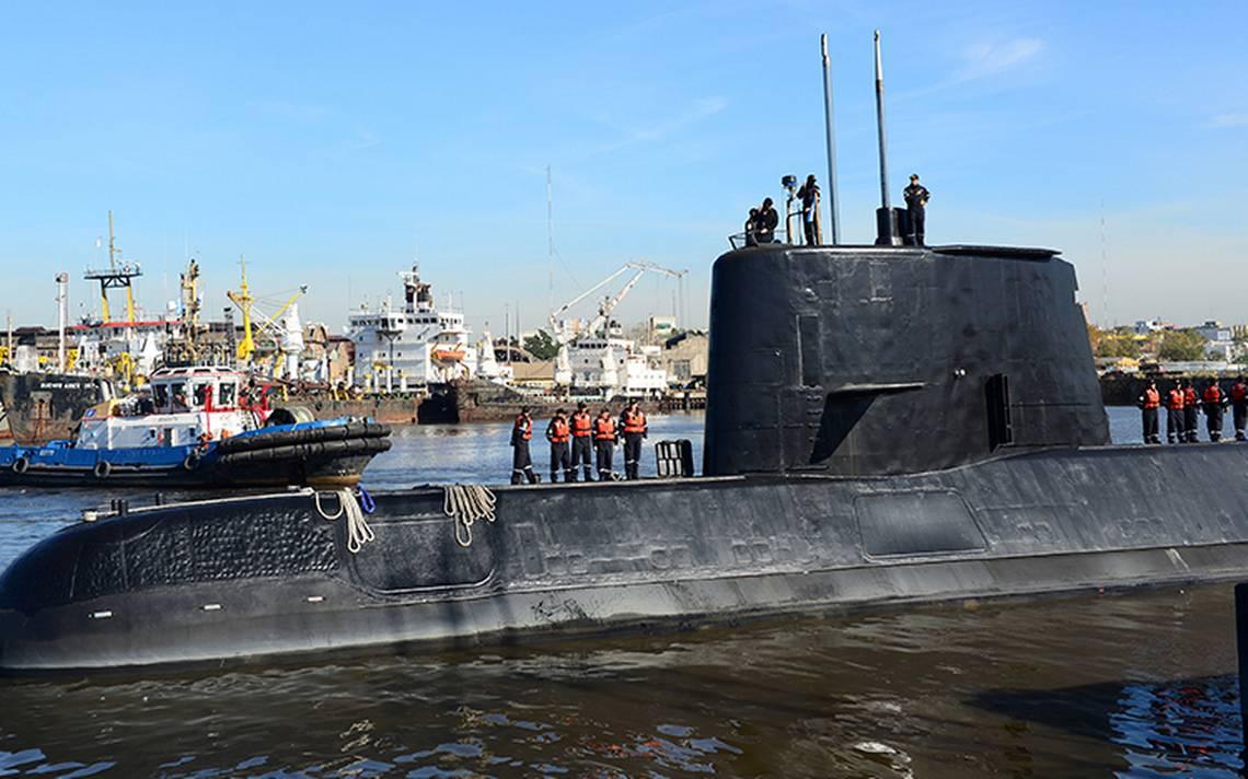 Vidente se une a búsqueda de tripulación del submarino argentino desaparecido