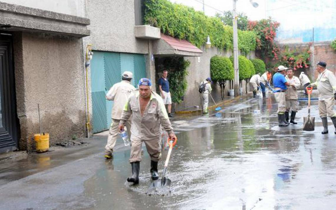 Urge reparar 37 kilómetros de drenaje en la CDMX