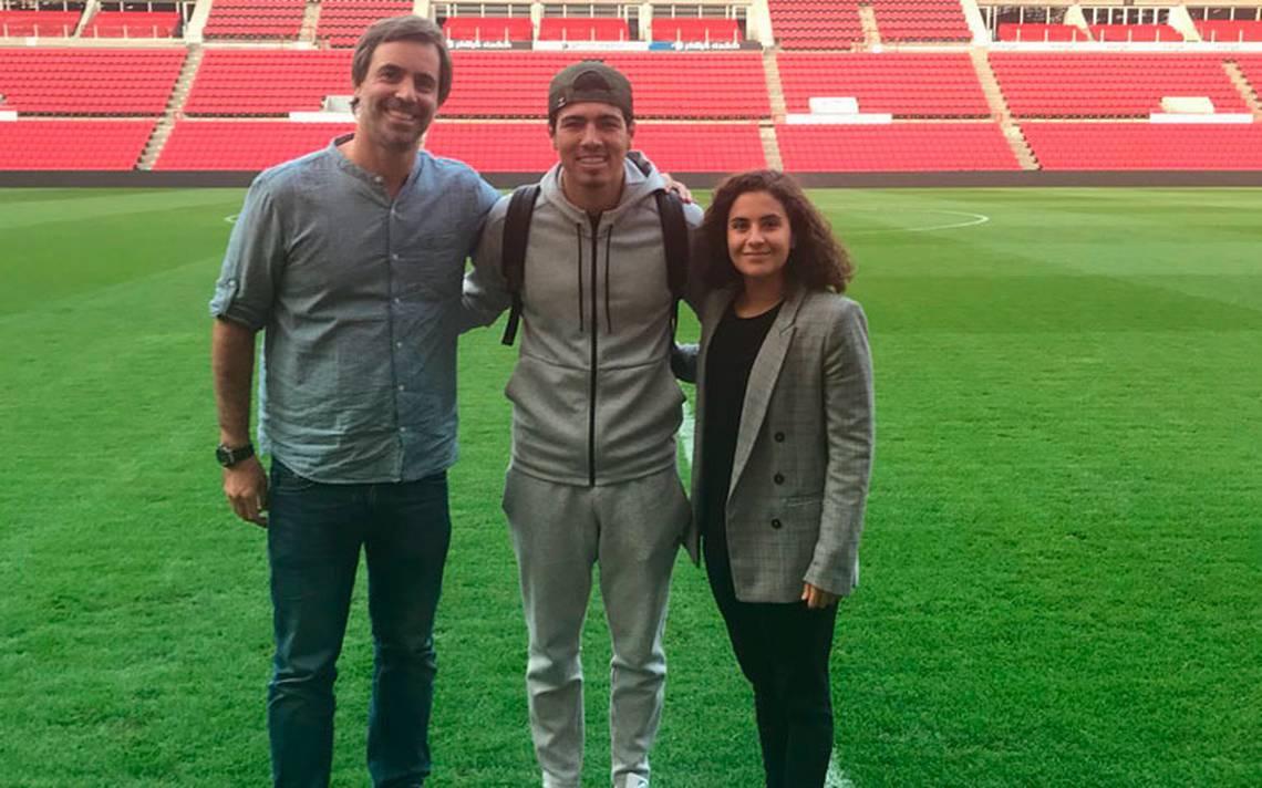 Erick Gutiérrez llega a Holanda con su nuevo equipo el PSV