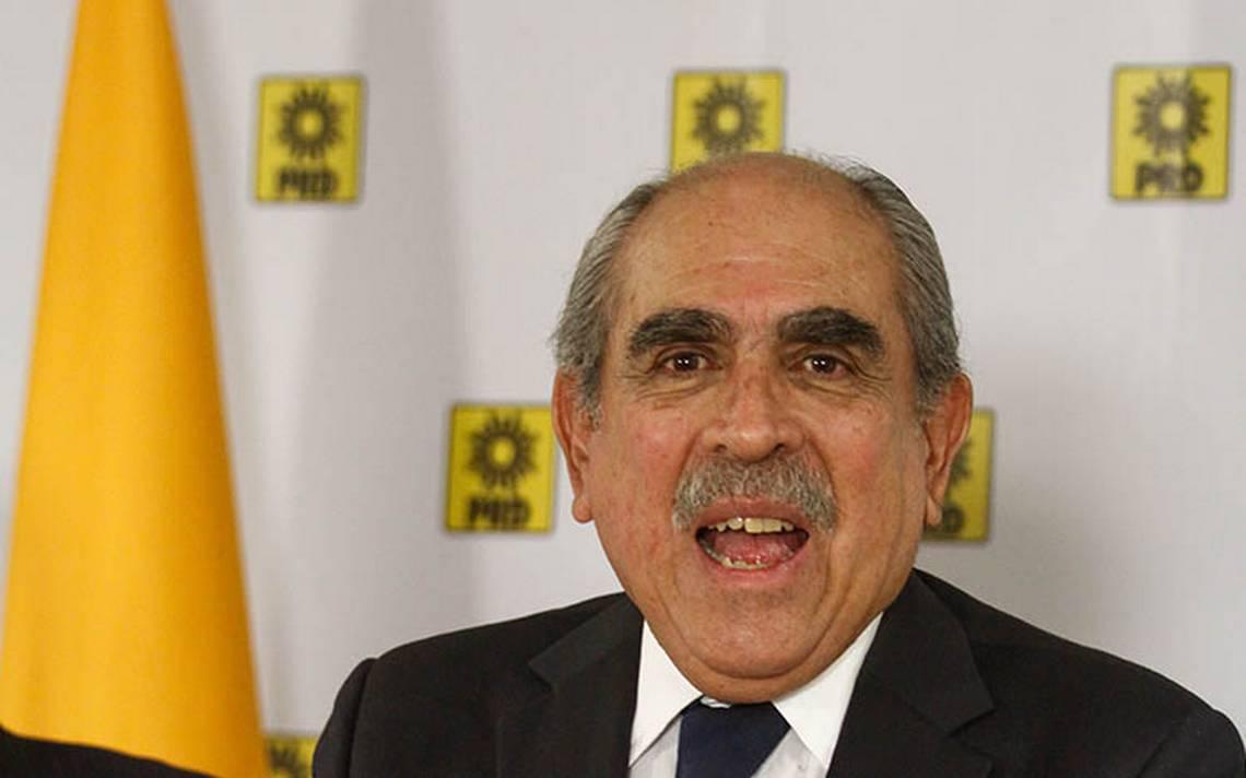 Pablo Gómez renuncia al PRD; advierte la inminente 'muerte' del partido