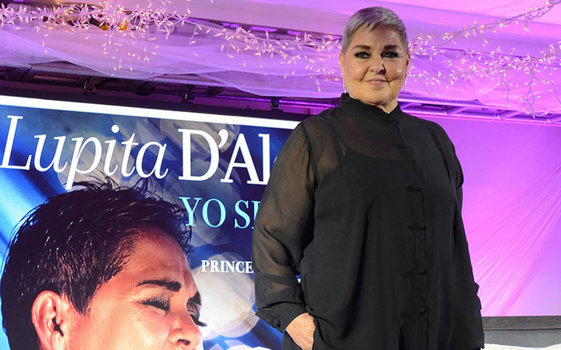 Lupita D'Alessio vuelve a interpretar éxito de Juan Gabriel