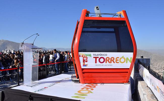 Inician la instalación del cableado en el Teleférico de Torreón
