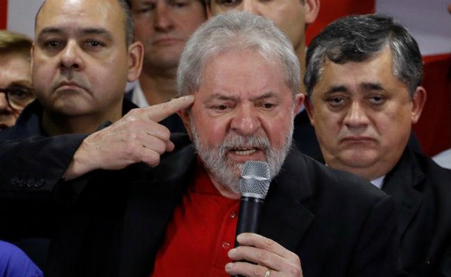 Justicia niega primera apelación de Lula contra su condena a prisión