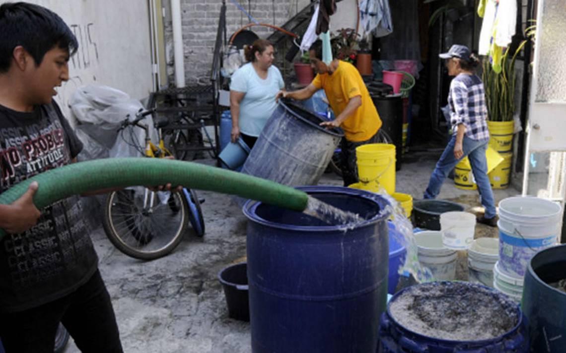 El viernes se normalizará abasto de agua en zonas afectadas