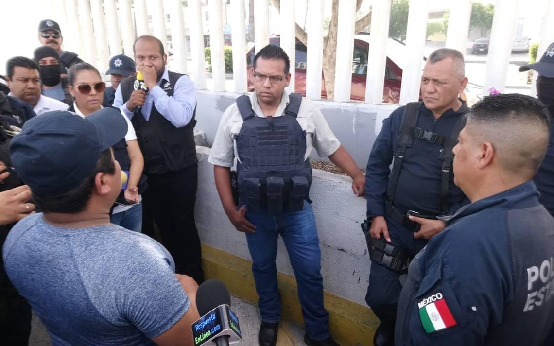 Policías de Reynosa exigen destitución de jefe tras muerte de compañero