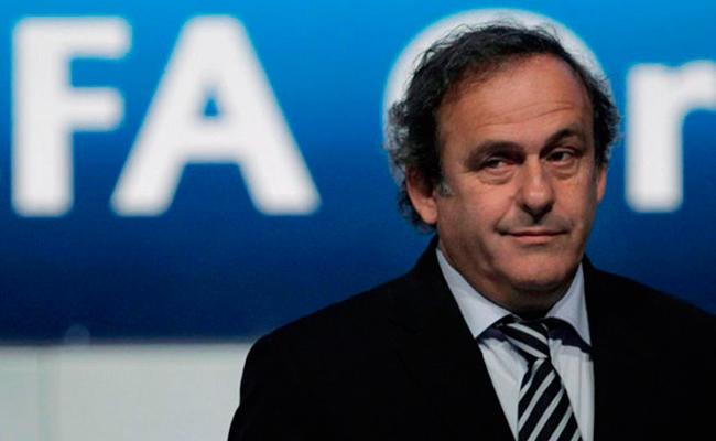 Platini, expresidente de la UEFA inhabilitado por cuatro años