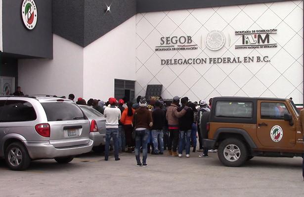 Haitianos quieren legalizarse en México
