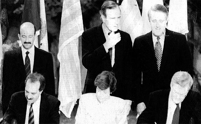 El TLCAN: Una historia de 23 años entre México, Canadá y Estados Unidos