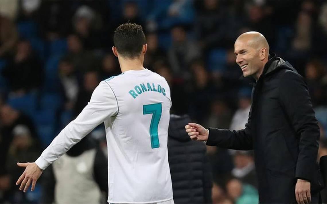 Zidane, convencido de que Cristiano Ronaldo estará en final de la Champions