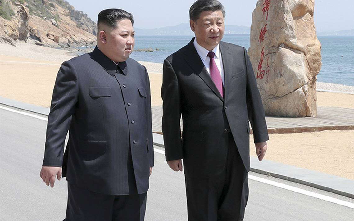 Líder norcoreano realiza visita sorpresa a China antes de cita con Trump