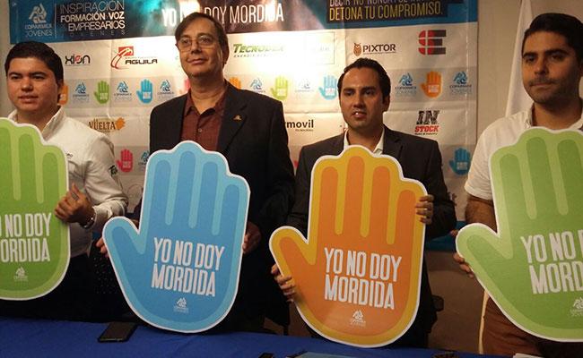 """Anuncian en Tampico campaña """"Yo no doy Mordida"""""""