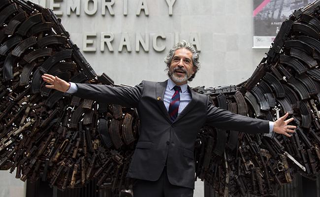 """Califican a Jorge Marín  """"democratizador del arte"""""""