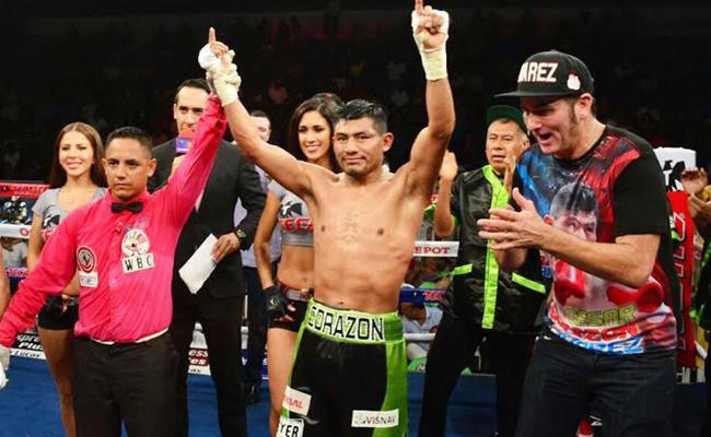 César Juárez venció por puntos al filipino Nonito Donaire