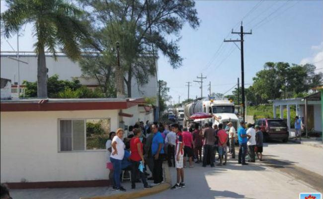 Retiran bloqueo de refinería Francisco I. Madero en Tampico