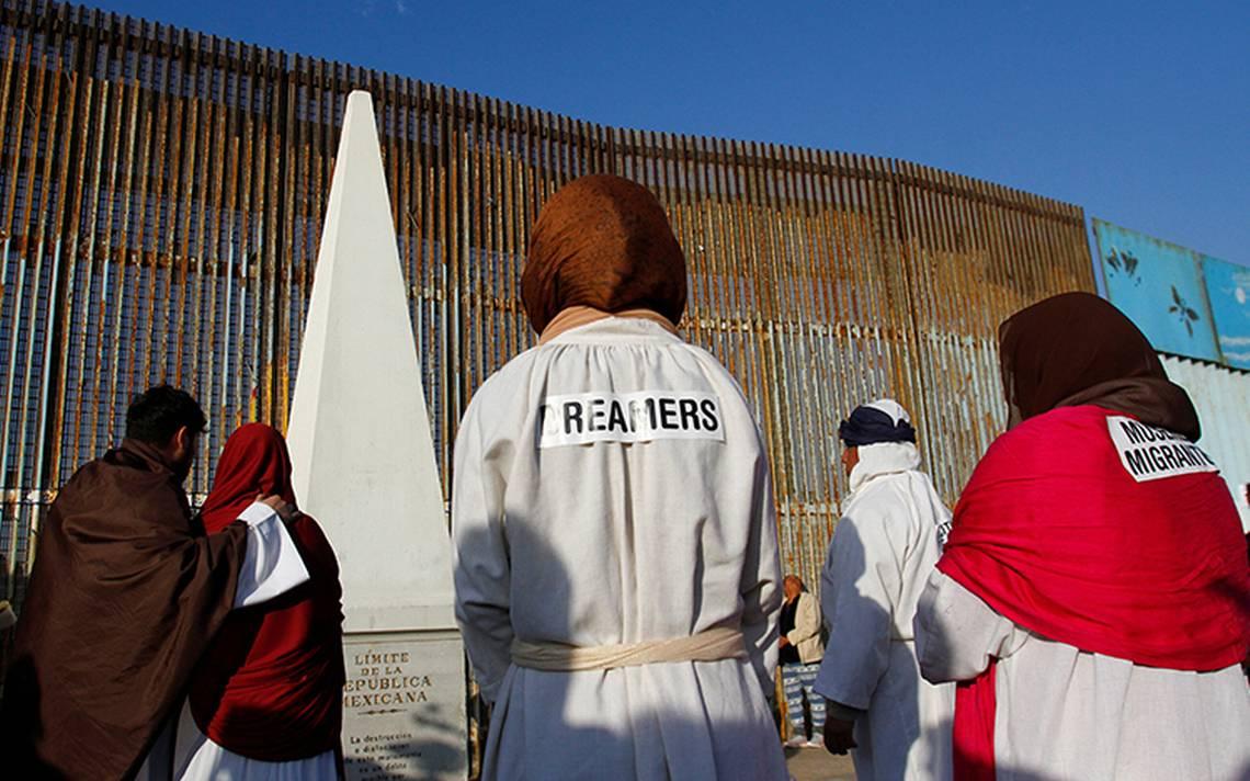 Vigilará Trump obras del muro