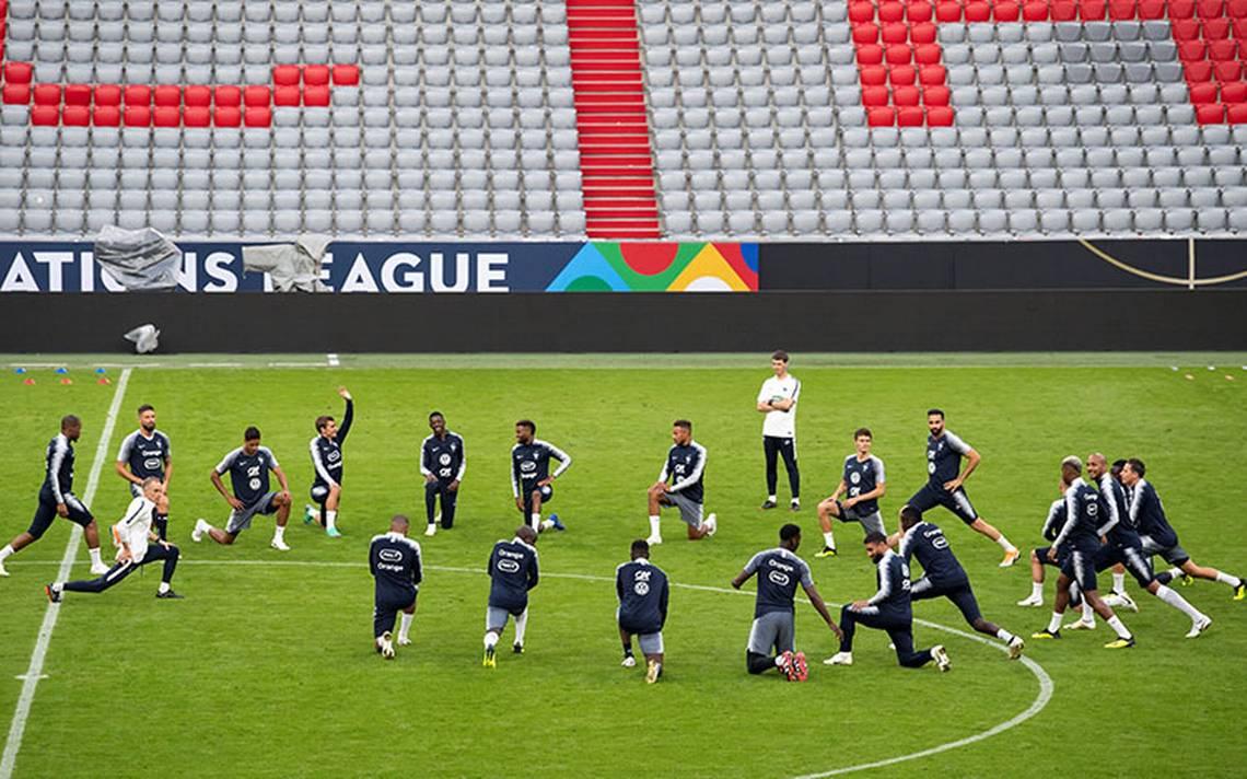 Francia y Alemania se enfrentan en la Liga de Naciones de la UEFA
