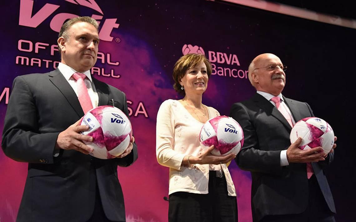 La Liga MX lanza campaña rosa contra el cáncer de mama