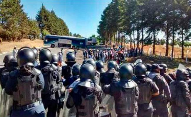 Enfrentamiento en Arantepacua deja 5 muertos