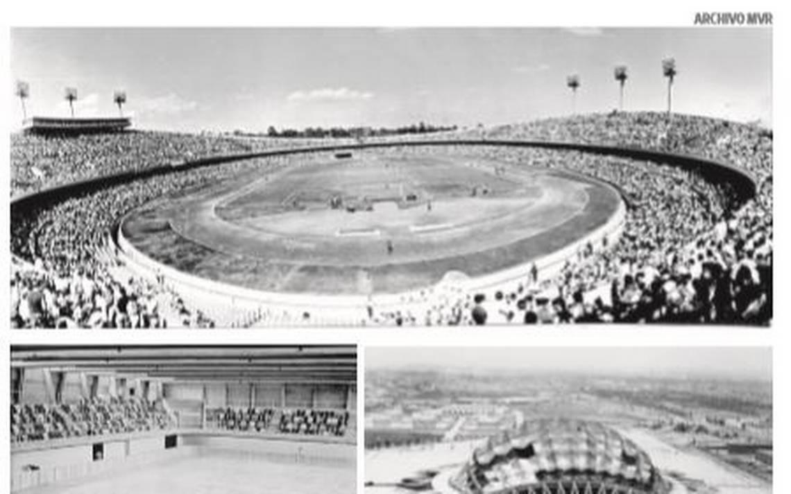 La arquitectura que nos heredA? los OlA�mpicos del 68