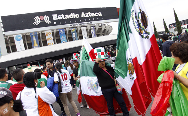 El Estadio Azteca se pintará de verde con mosaico gigante
