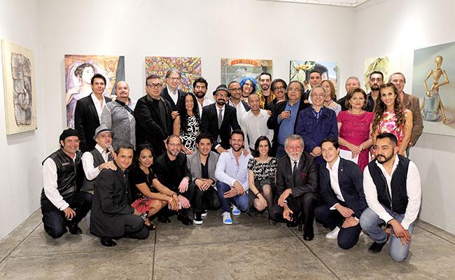 Inauguran exposición Lotería II
