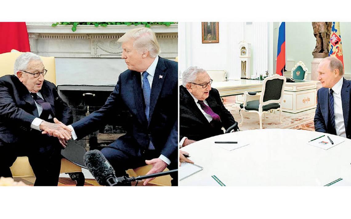 Kissinger planea usar a Rusia contra China