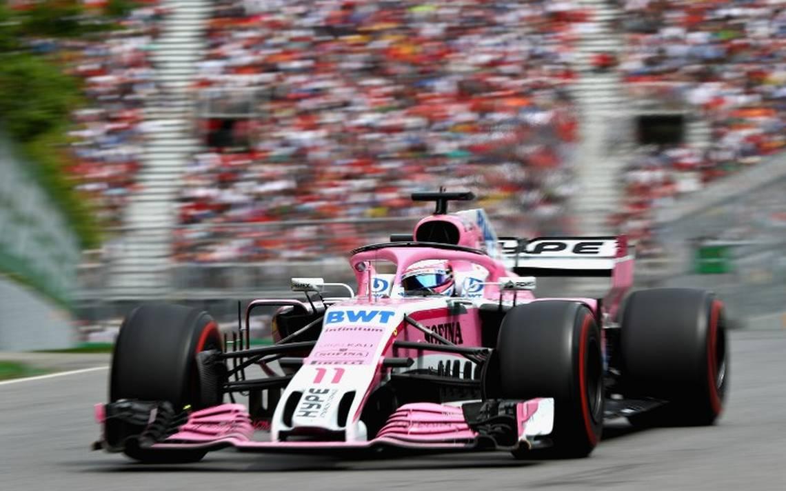 Sebastian Vettel se lleva el Gran Premio de Canadá; Checo Pérez acaba en 13