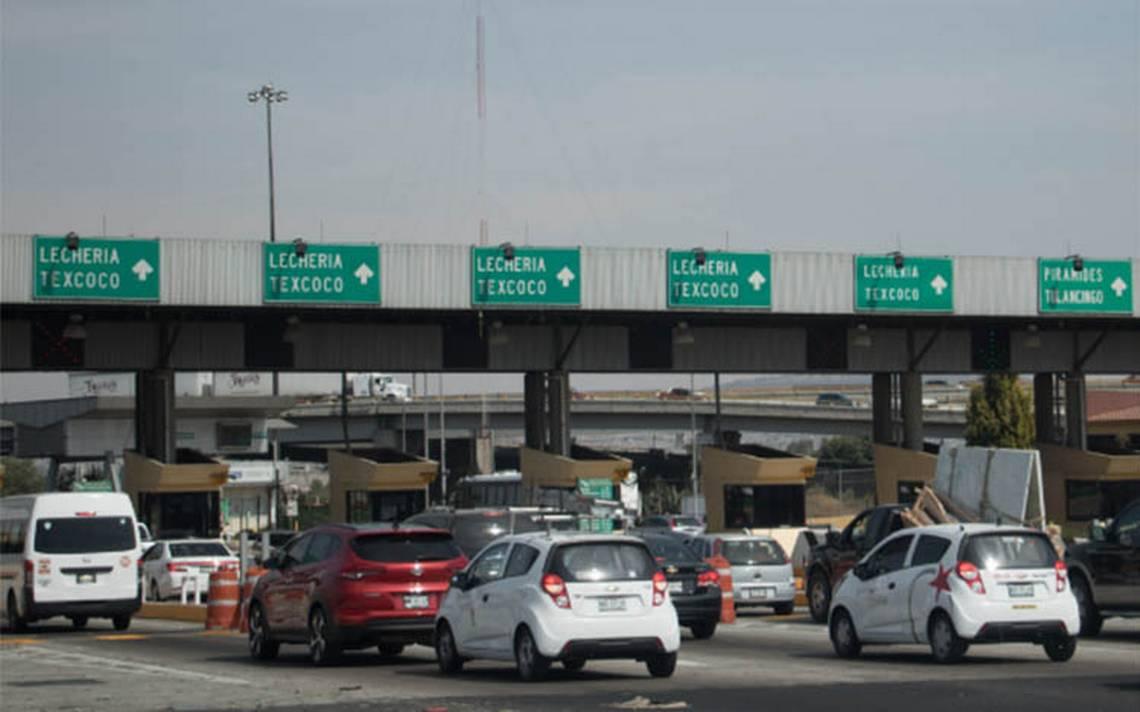 Autopista México–Pachuca, la de mayor aforo vehicular este día