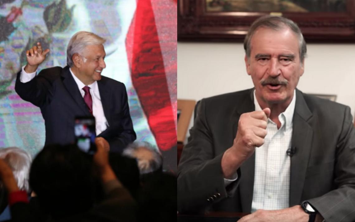 [Video] Deseo de todo corazón que nos calles la boca, dice Fox a AMLO