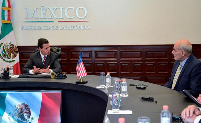 México y Estados Unidos pactan estrategia conjunta frente a crimen organizado