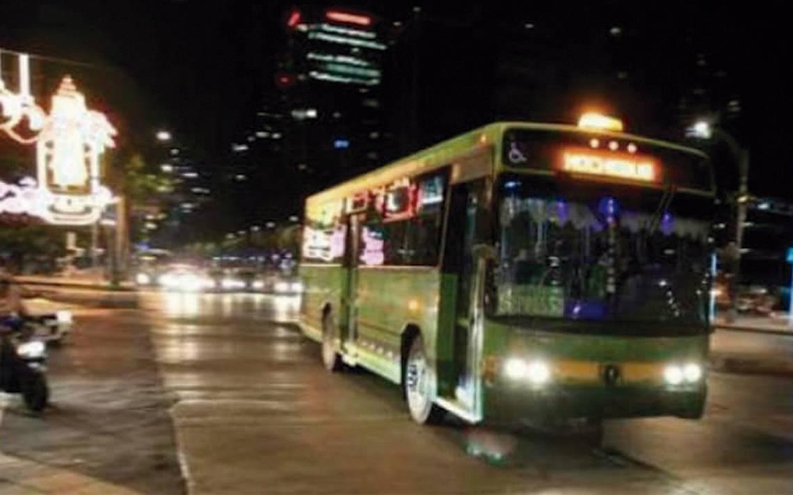 Plantean ruta para Nochebús segura y a las necesidades capitalinas