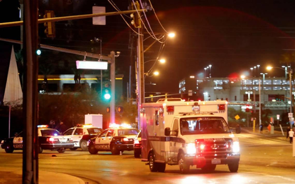 """Líderes internacionales condenan el acto de """"violencia indiscriminada"""" en Las Vegas"""
