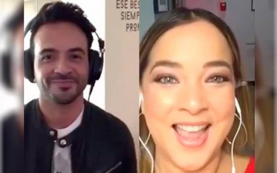 [Video] Adamari López canta a dueto con Luis Fonsi y las redes ¡no lo creen!