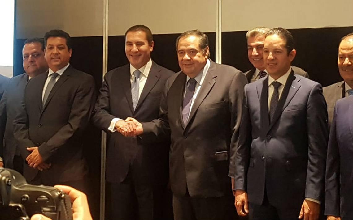 Con apoyo de gobernadores, Héctor Larios y Moreno Valle van por dirigencia nacional del PAN