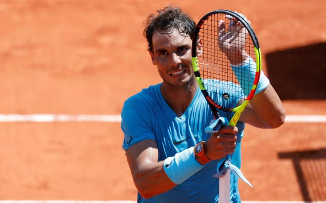 Nadal se clasifica a semifinales de Roland Garros tras derrotar al argentino Schwartzman