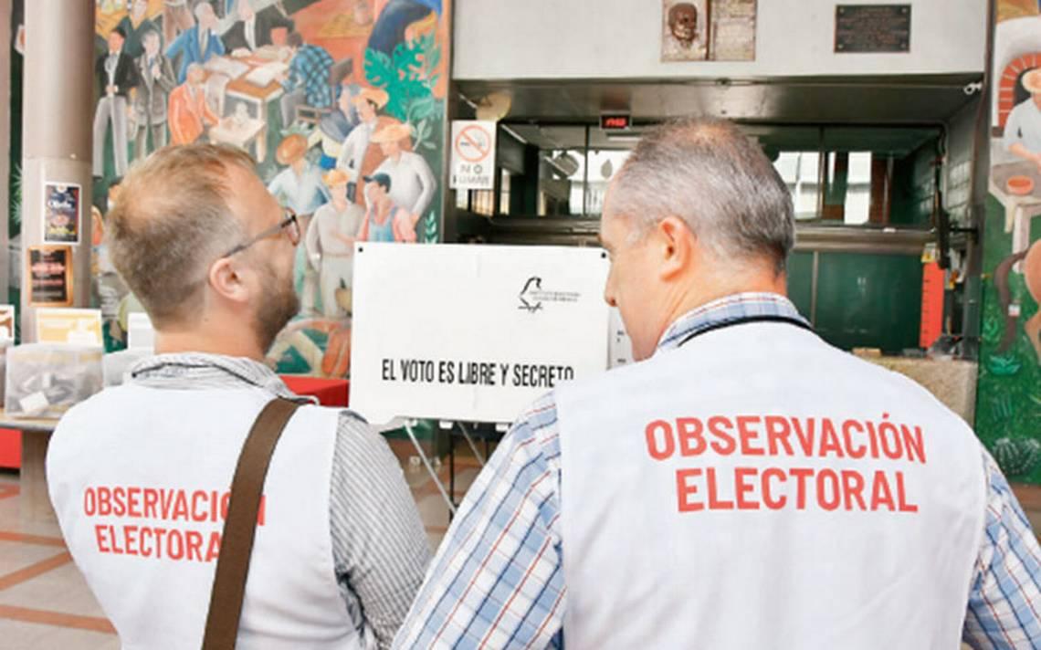 Observadores aplauden proceso electoral, pero critican alcance en derechos humanos