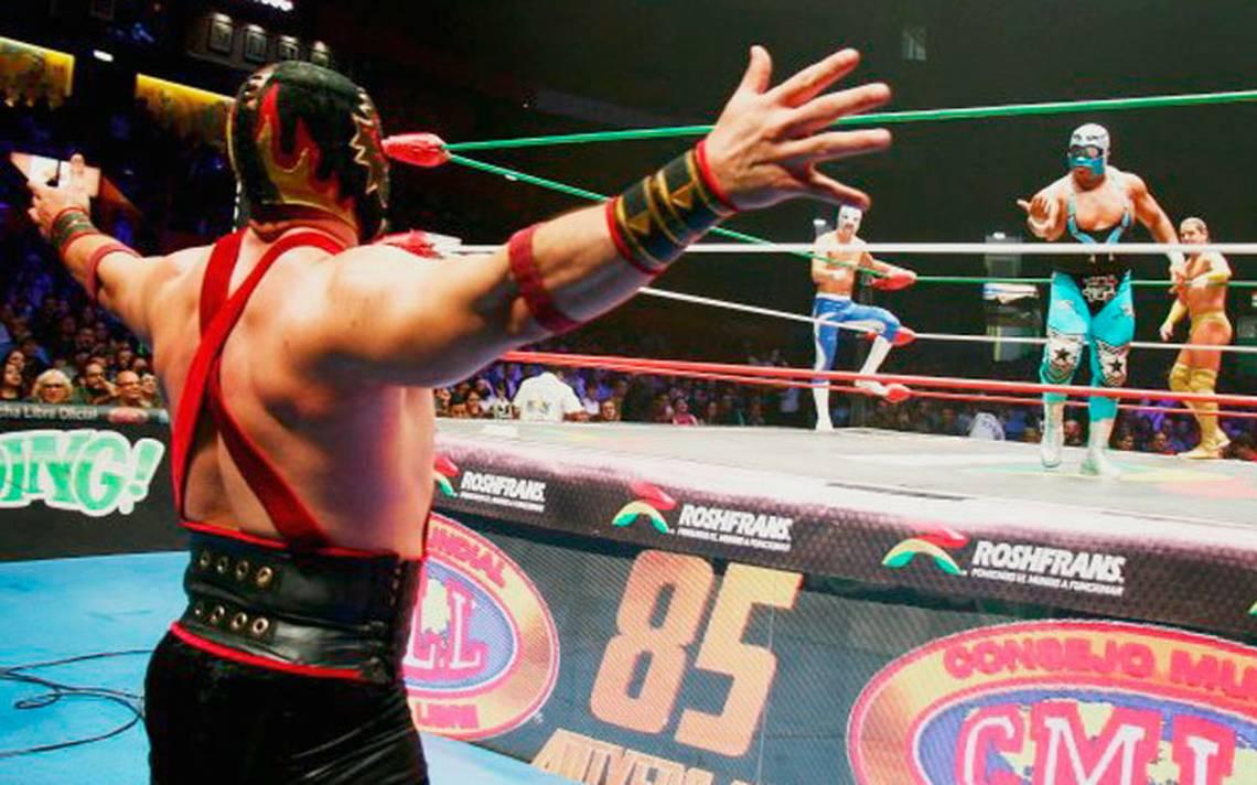 Lluvia de estrellas en la Arena México, se presento la función Martes de Nuevos Valores