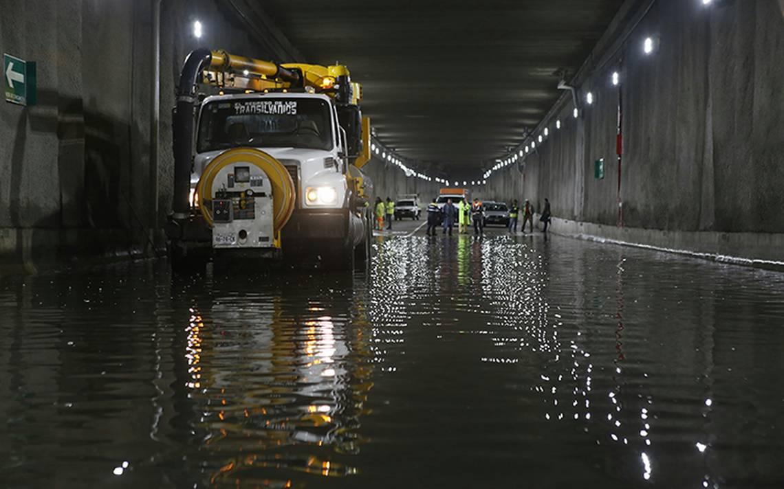 Lluvia de este jueves, una de las más intensas en la CDMX