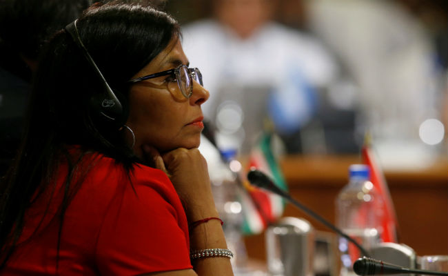 Venezuela presenta en OEA resoluciones sobre los 43 y el muro de Trump